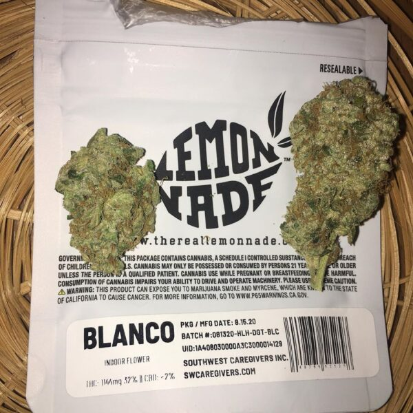 Pure Blanco cookies strain