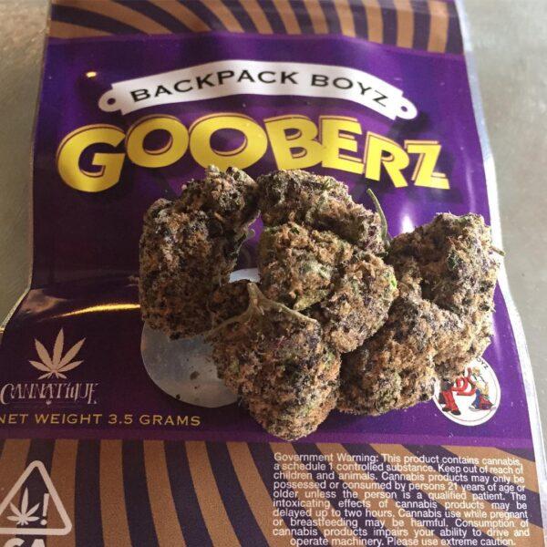 Buy backpack boyz Gooberz strain