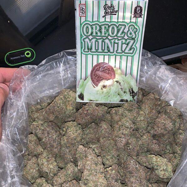 Buy Oreoz and Mintz strain