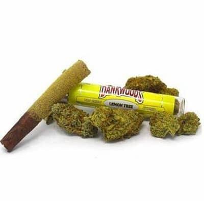 Buy Lemon cookies Dankwoods pre rolls