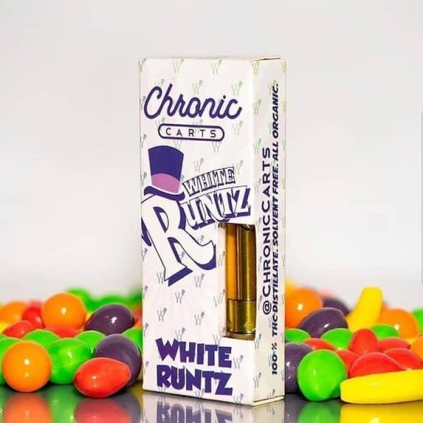 Buy White runtz Carts